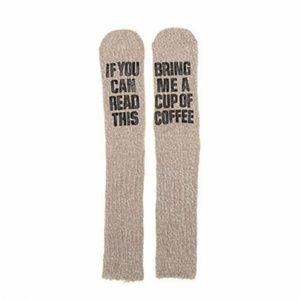 Coffee drinkers novelty socks